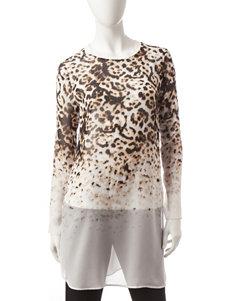 Calvin Klein Beige Shirts & Blouses