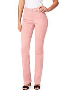 Miracle Jean Dream Straight Leg Pink Denim Jeans
