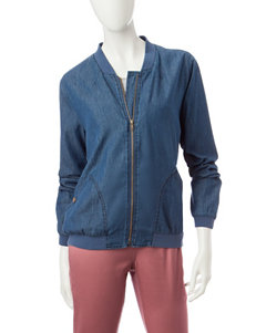 Hannah Denim Denim Jackets Lightweight Jackets & Blazers