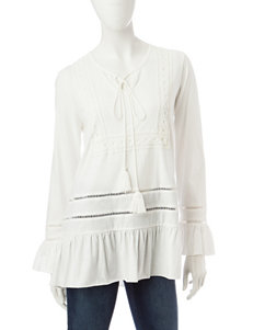 Hannah Off White Shirts & Blouses