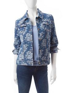 Hannah Medium Blue Denim Jackets