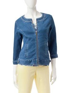 Hearts of Palm Blue Lightweight Jackets & Blazers