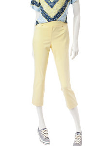 Hearts of Palm Yellow Capris & Crops