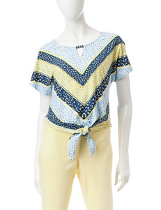 Hearts of Palm Yellow Shirts & Blouses