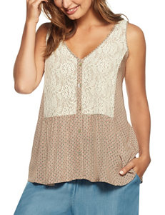 Skye's The Limit Lace Panel Top