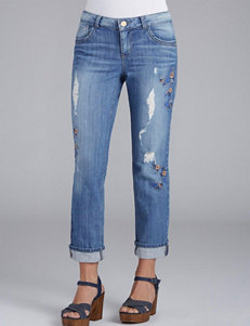 Democracy Girlfriend Embroidered Jeans
