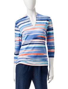 Ruby Road Southwestern Striped Print