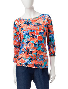 Ruby Road Coral Shirts & Blouses