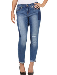 Seven 7 Patch Detailed Girlfriend Jeans
