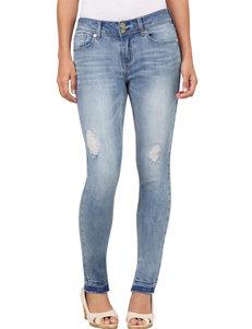 Seven 7 Released Hem Skinny Jeans