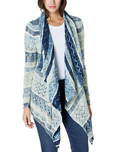 Vintage America Blues Dark Blue Cardigans