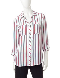 Notations Coral Shirts & Blouses