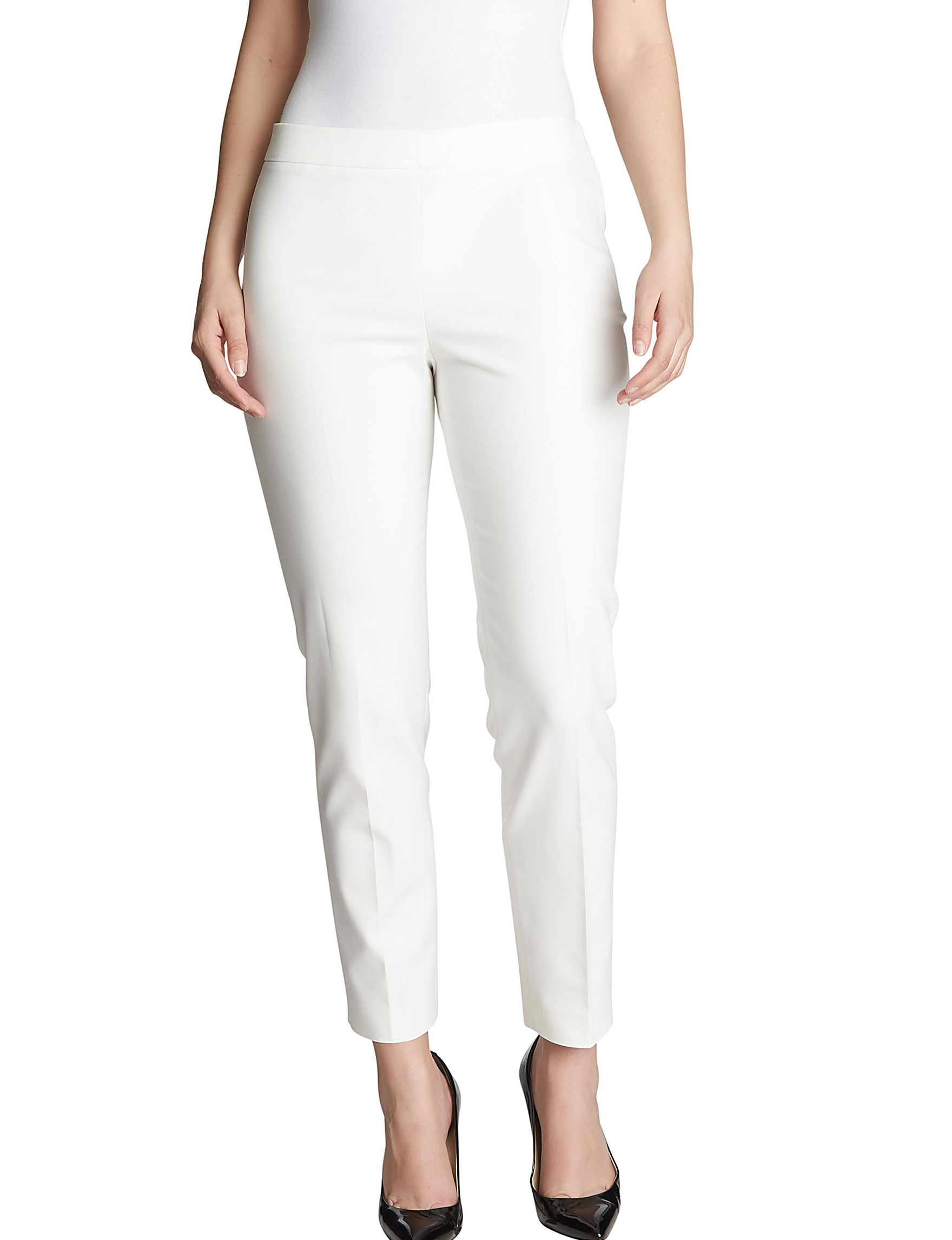 Chaus White Soft Pants
