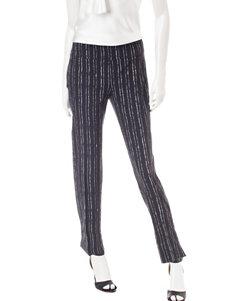 Valerie Steven Striped Print Millennium Pants
