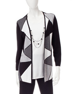 Alfred Dunner Color Block Layered-Look Top