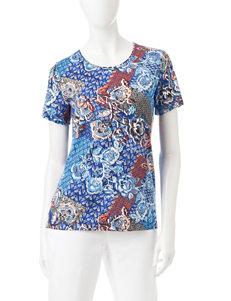Rebecca Malone Blue Shirts & Blouses