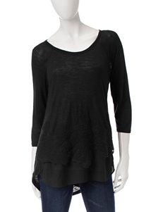 Bandolino Black Shirts & Blouses