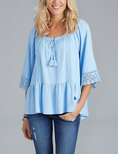 Democracy Lace Inset Top