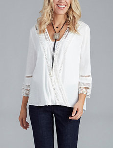 Democracy Crochet Accented Envelope Top