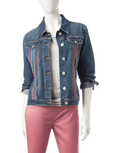 Hannah Embroidered Jean Jacket