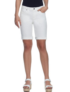 Skyes The Limit White Denim Shorts