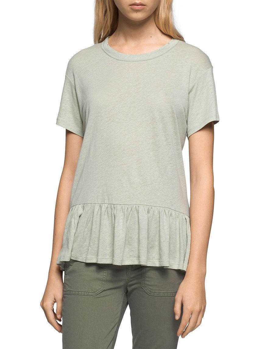 Calvin Klein Jeans Green Shirts & Blouses