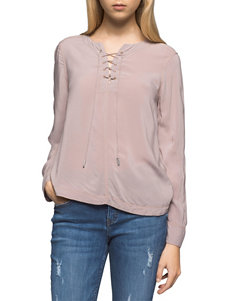 Calvin Klein Jeans Beige Shirts & Blouses