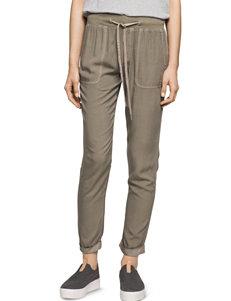 Calvin Klein Jeans Green Soft Pants