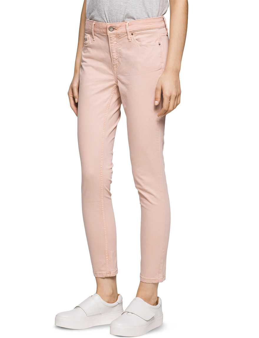 Calvin Klein Jeans Pink Soft Pants