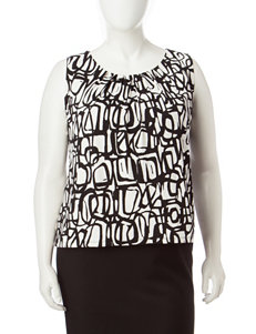 Kasper White / Black Camisoles & Tanks