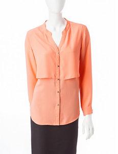 Valerie Stevens Coral Shirts & Blouses