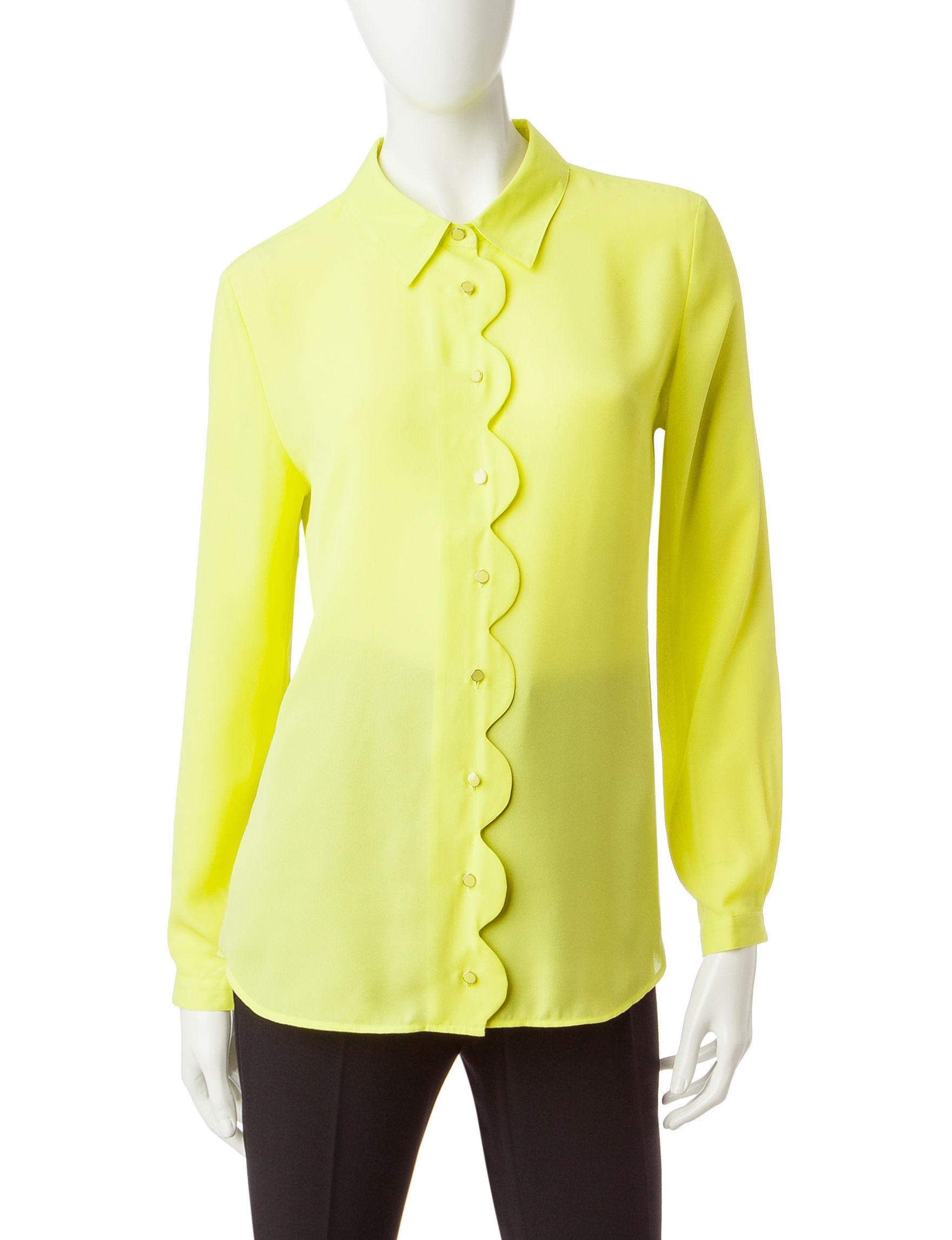 Valerie Stevens Green Shirts & Blouses