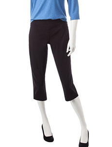 Ruby Road Black Capris & Crops