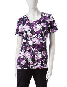Rebecca Malone Purple Shirts & Blouses