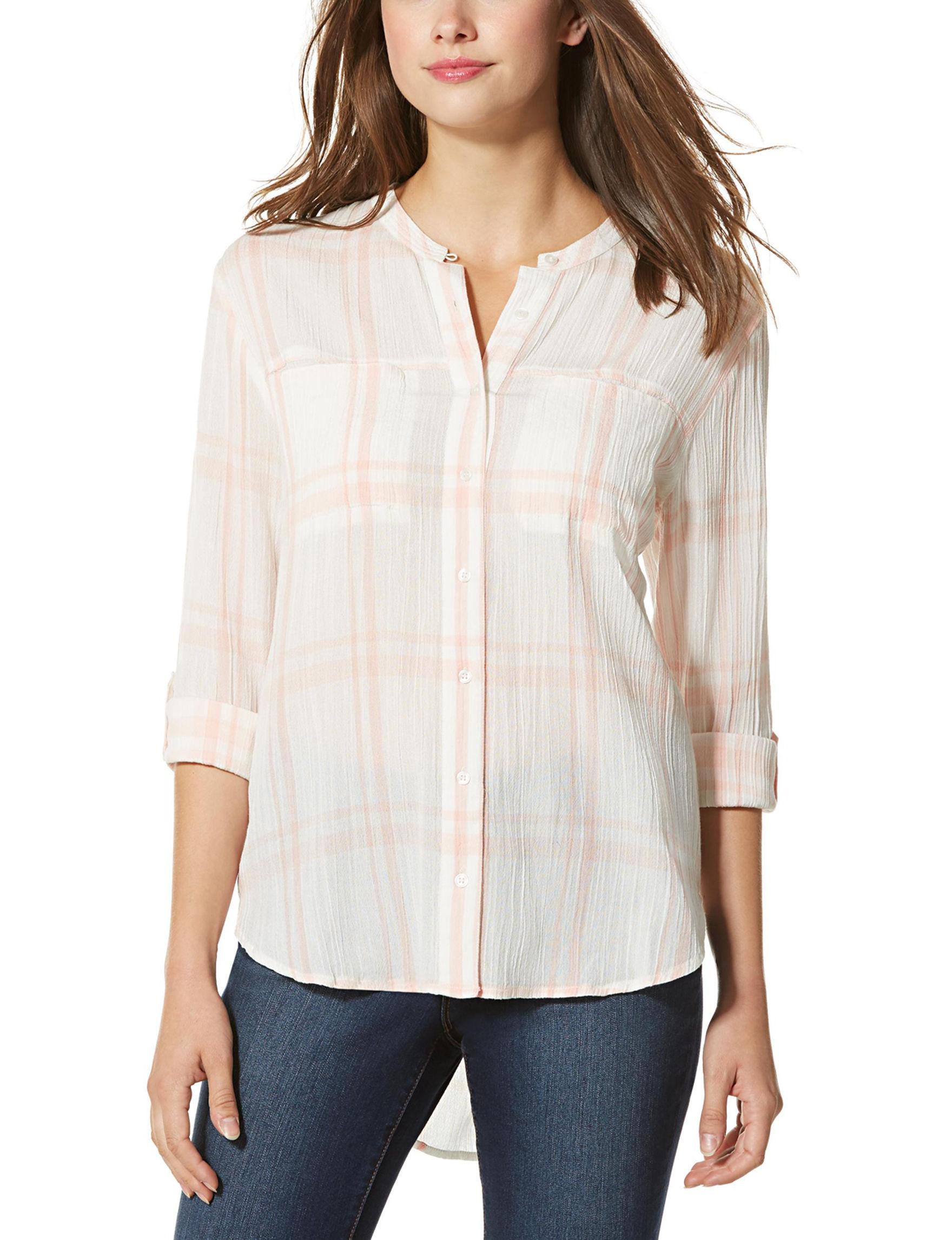 Nine West Jeans Orange Shirts & Blouses