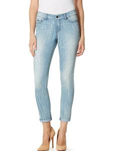Nine West Jeans Blue / White Skinny