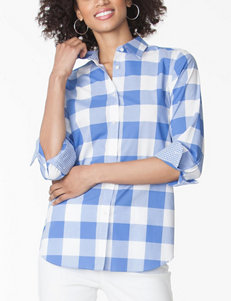 Chaps Classic Button Down Top