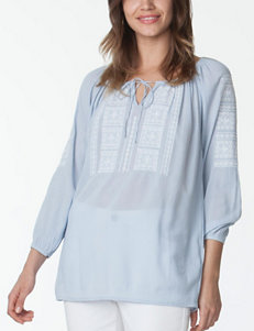 Chaps Embroidered Top