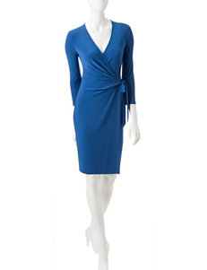 Anne Klein Blue Everyday & Casual Fit & Flare Dresses