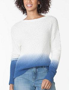 Chaps Split Hem Sweater