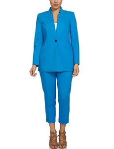 Chaus Blue Capris & Crops Lightweight Jackets & Blazers