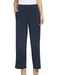 Chaus Navy Capris & Crops Soft Pants