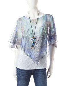 Energe Blue Shirts & Blouses