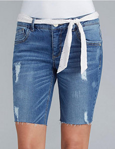 Democracy Blue Denim Shorts