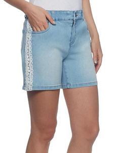 Skyes The Limit Blue Denim Shorts