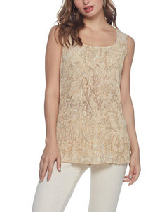 Skyes The Limit Beige Shirts & Blouses