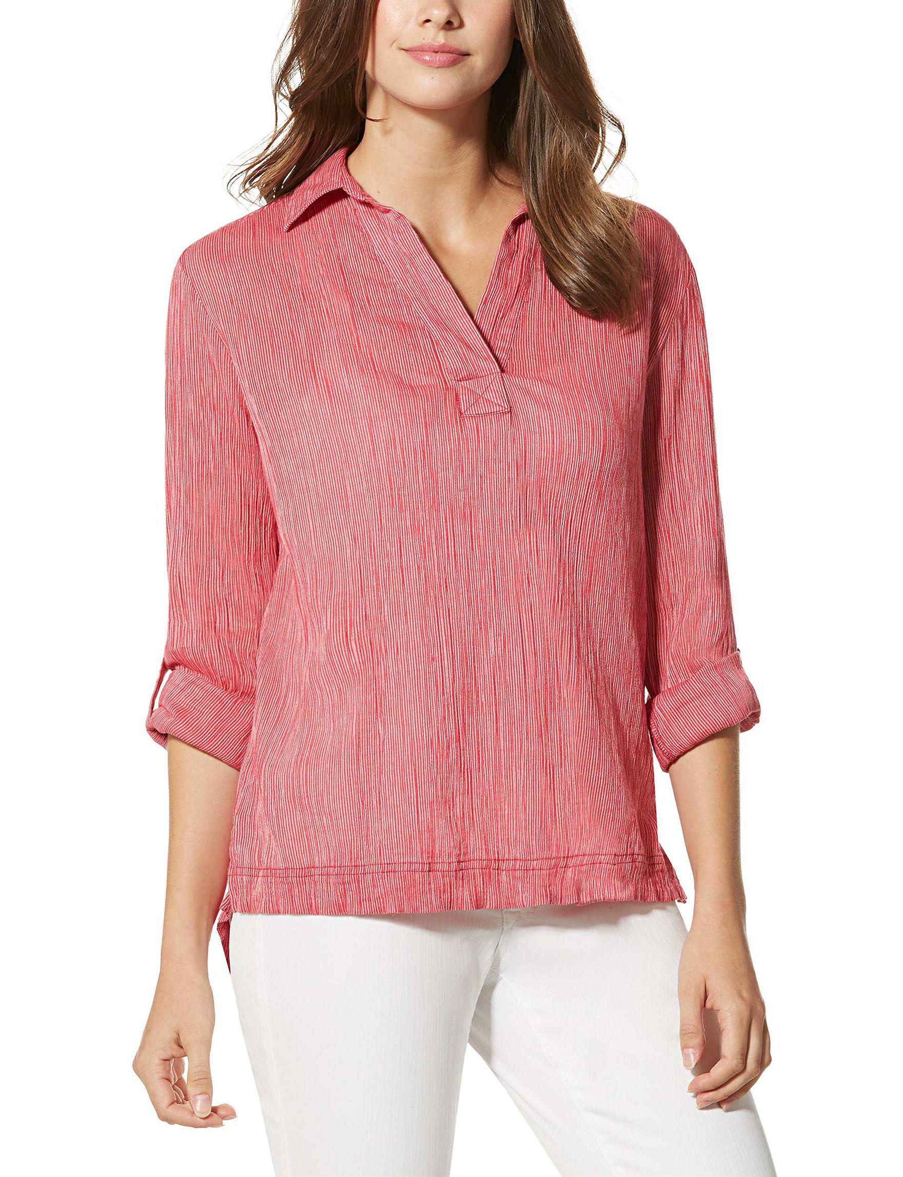 Nine West Jeans Raspberry Shirts & Blouses