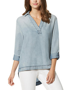 Nine West Jeans Light Blue Shirts & Blouses