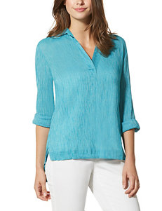 Nine West Jeans Turquoise Shirts & Blouses