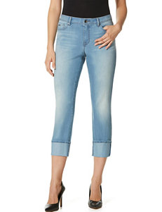 Nine West Jeans Blue Capris & Crops
